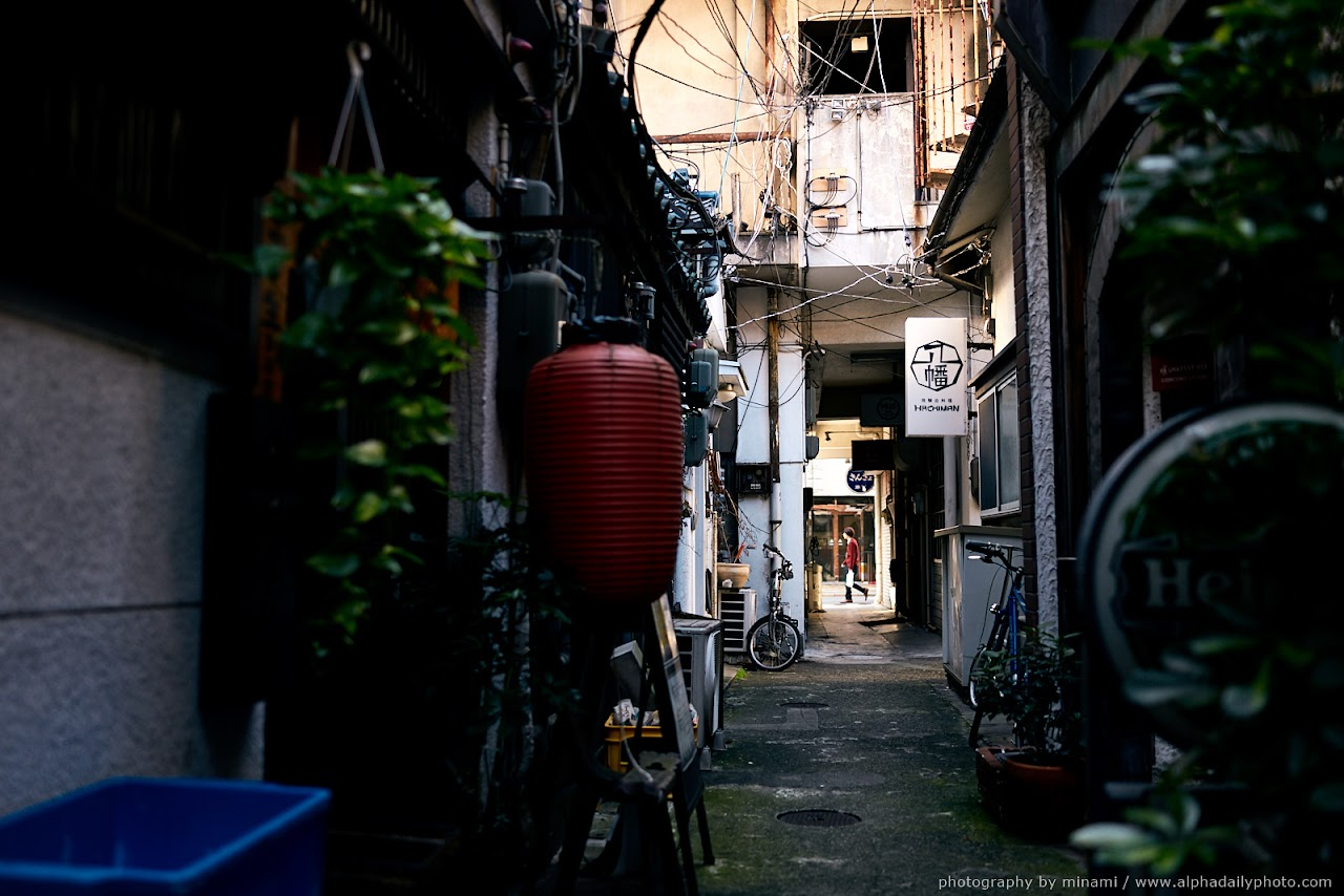 street photography in Sakae, Japan