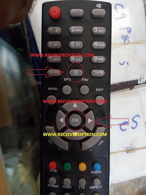 STAR TREK MODEL 1818 HD RECEIVER BISS KEY OPTION