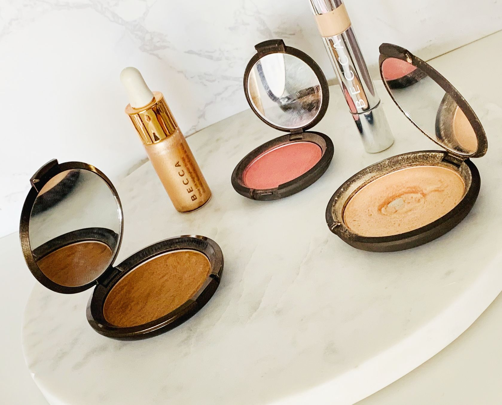 My favourite Becca products