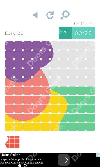 Cheats, Walkthrough for Blocks and Shapes Level 26