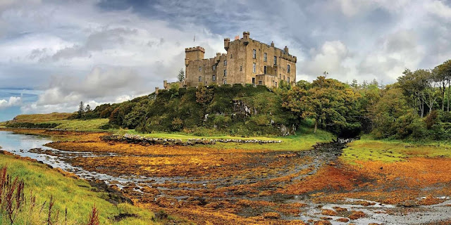 Dunvegan castle isle of skye must see things best views cottage portree fairy pools accommodation fairy glen skye