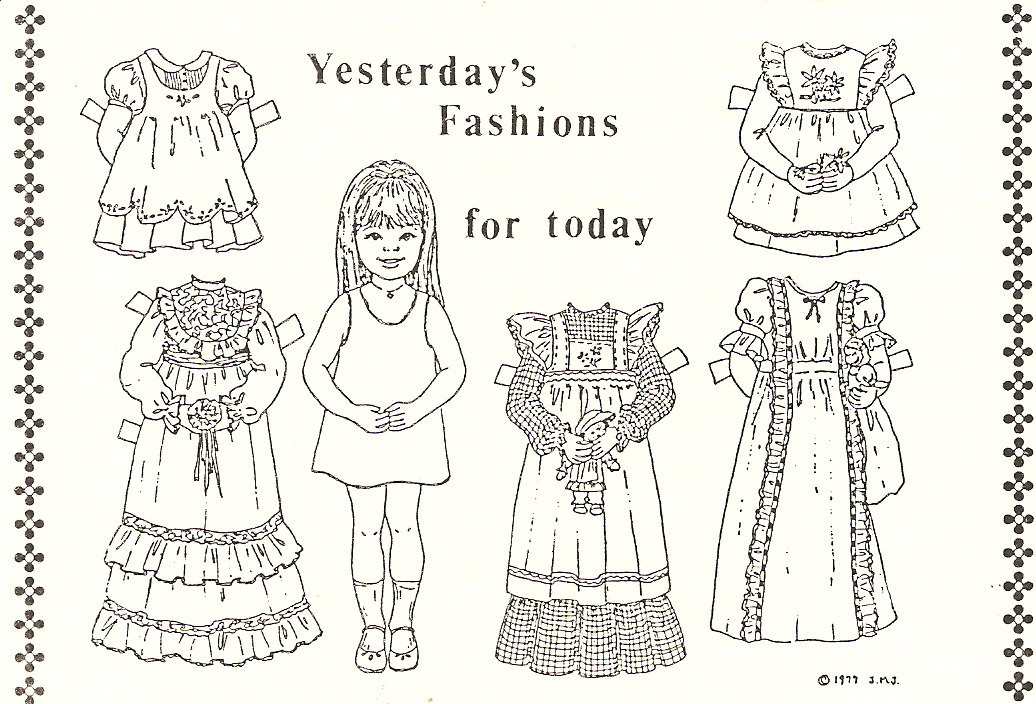 Miss Missy Paper Dolls: September 2013