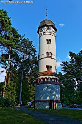 Wasserturm Hamburg Friedhof Ohlsdorf
