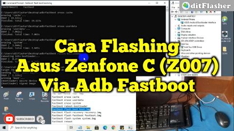 cara-flash-asus-zenfone-c-z007-via-adb-fastboot