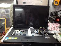 Turtorial Service Laptop Lenovo G405 Layar Blank (no display) Tanpa Membuka Cassing