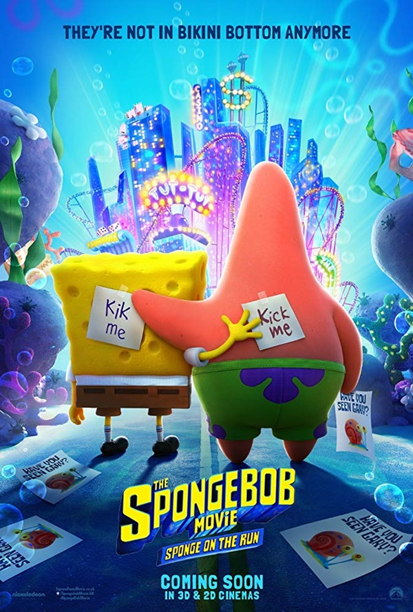 Filem Animasi dan Fantasi The Spongebob Movie Sponge on the run
