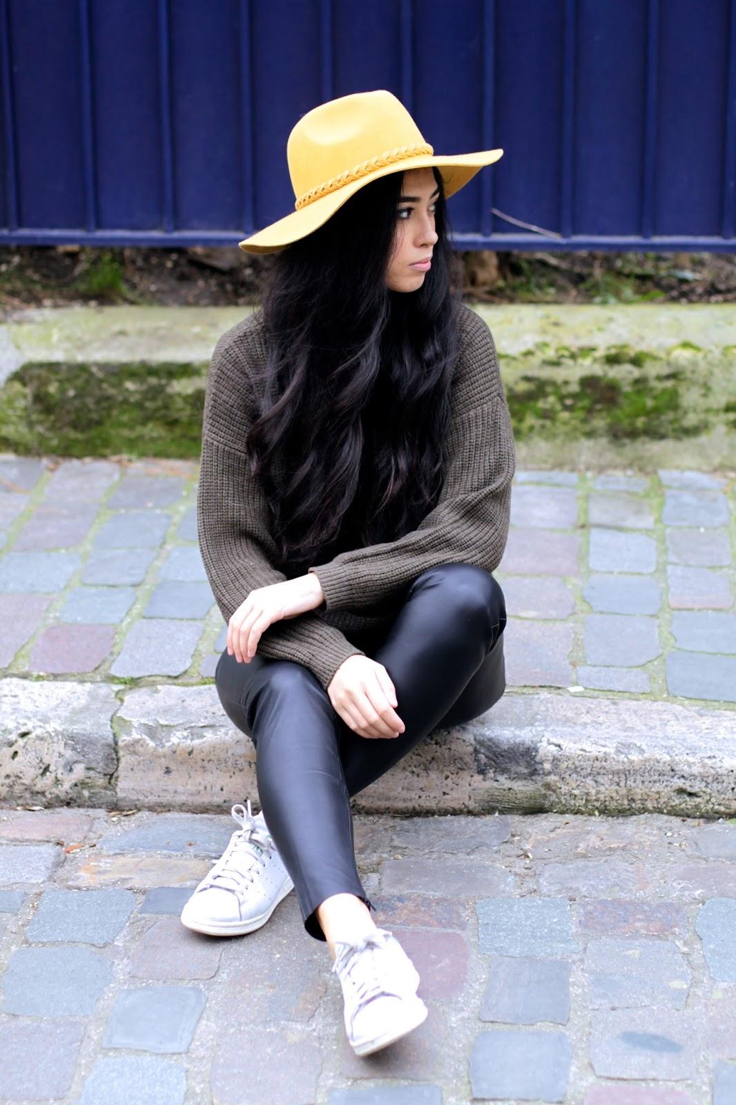 Elizabeth l Faux Fur coat leather pants l THEDEETSONE l http://thedeetsone.blogspot.fr