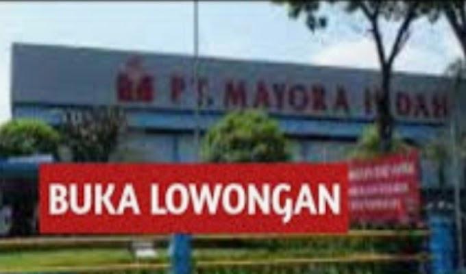 Info Loker di PT. Mayora Indah Tbk yang Viral di Group Medsos Dipertanyakan Warga Sekitar