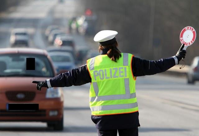 Mazedonischen Führerschein nicht umgeschrieben- Anzeige