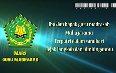 Mars Guru Madrasah ( Lirik, Notasi dan Video)