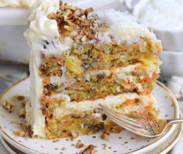 TO DIE FOR CARROT CAKE RECIPE