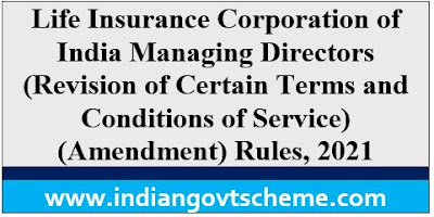 Revision of Certain Terms and Conditions of Service