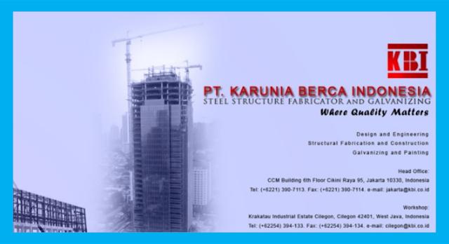 Lowongan Kerja Drafter Bocad / Tekla PT. Kratama Belindo International Cilegon