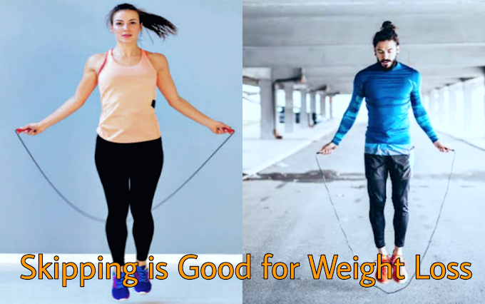 Skipping Is Good For Weight Loss