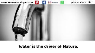 save water slogans 7