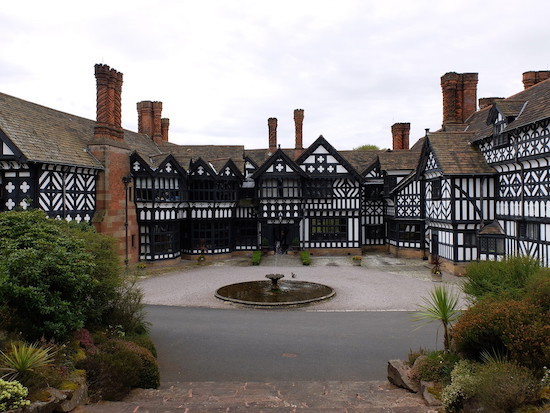 The entrance to Hillbark, Frankby, Wirral Image by Leon Berg reproduced with permission
