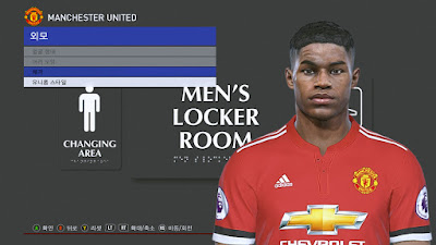 PES 2018 Faces by PESWB ( Marcus Rashford )