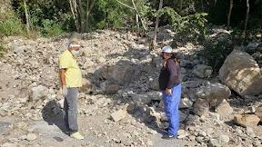 Alcaldía de Campo Elías inició construcción de muros de contención en zonas álgidas