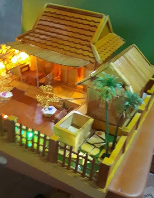 Mô hình nhà lưu niệm Đại tướng Võ nguyên Giáp ở quê nhà