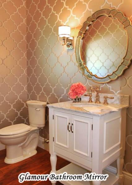 Home Goods Glamour Bathroom Mirror