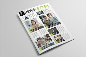 Okullar için Dergi ve Bülten Şablonu