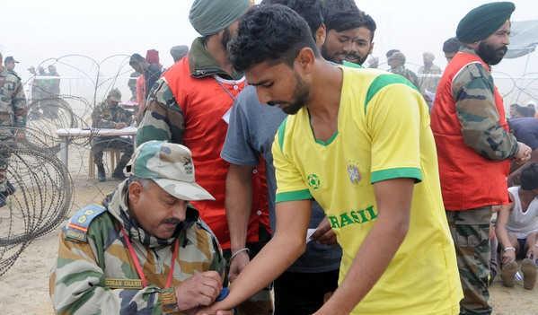 Jabalpur Army Rally, Indian Army Rally, Open Bharti Rally