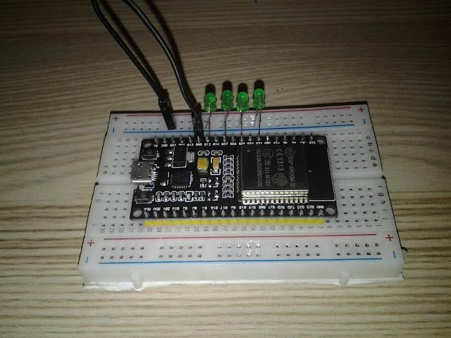 การใช้ ESP32 เปิดปิดไฟ LED ผ่าน WiFi โดยใช้ เว็บบราวเซอร์