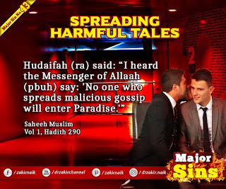 MAJOR SIN. 43.2. SPREADING HARMFUL TALES