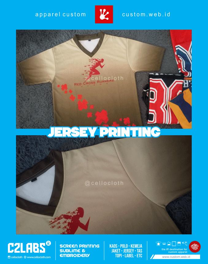 Jersey Printing Custom Full Print Jogja - Jersey Jogja