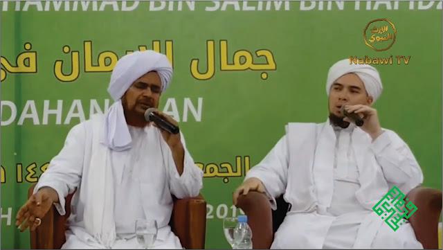 Habib Umar bin Hafidz ceramah di hadapan mualaf Indonesia
