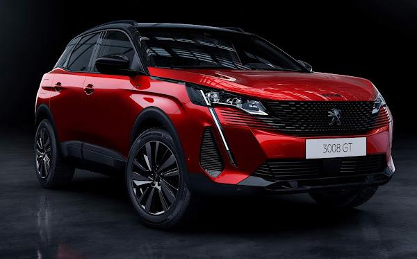 Novo Peugeot 3008 2022 - Brasil