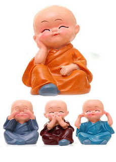 gift for him, Car Dashboard toy, buddha figurines, unique gifts, gift for girls