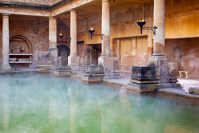 DOMVS ROMANA: Salus per aquam, las aguas termales en la antigua Roma