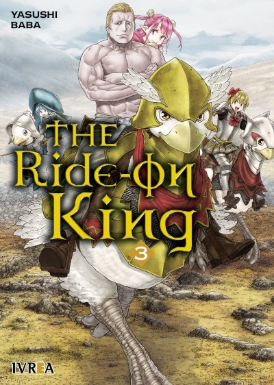Reseña de The Ride-on King vol. 3 de Yasushi Baba - Ivréa.