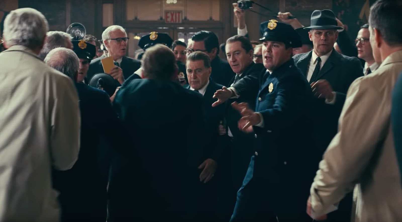 "Robert De Niro, Al Pacino und Joe Pesci in ""The Irishman"" von Martin Scorsese 