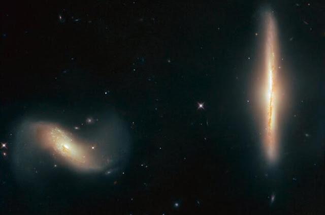 """""""Хаббл"""" отримав знімок галактичної """"пари"""""""
