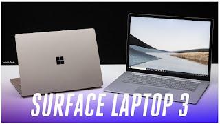 مايكروسوفت تستعد لاطلاق نسختها الثالثة من Surface Laptop 3