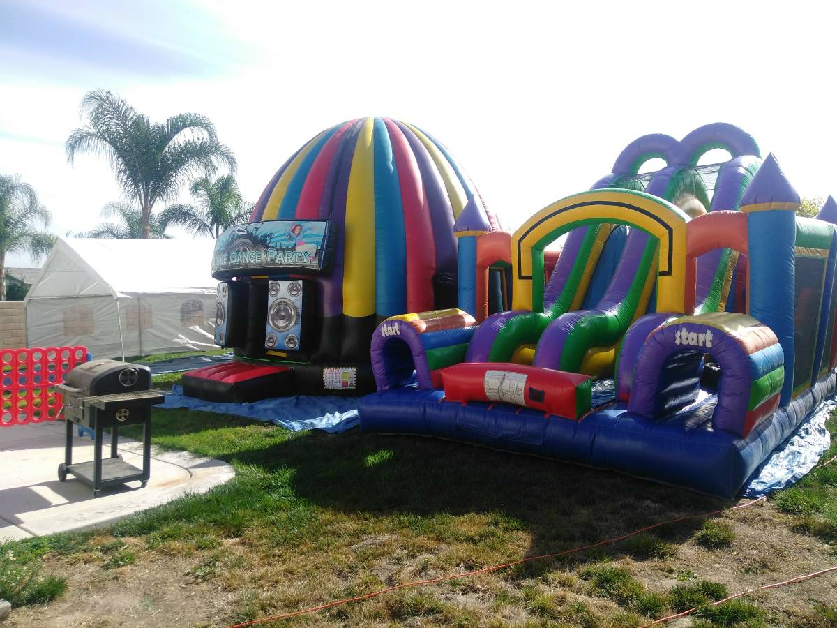 paludis jumpers in moreno valley party rentals in riverside ca