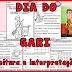 LEITURA E INTERPRETAÇÃO ALFABETIZAÇÃO - DIA DO GARI