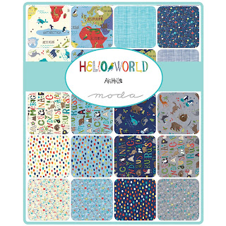 Moda Hello World Fabric by Abi Hall for Moda Fabrics