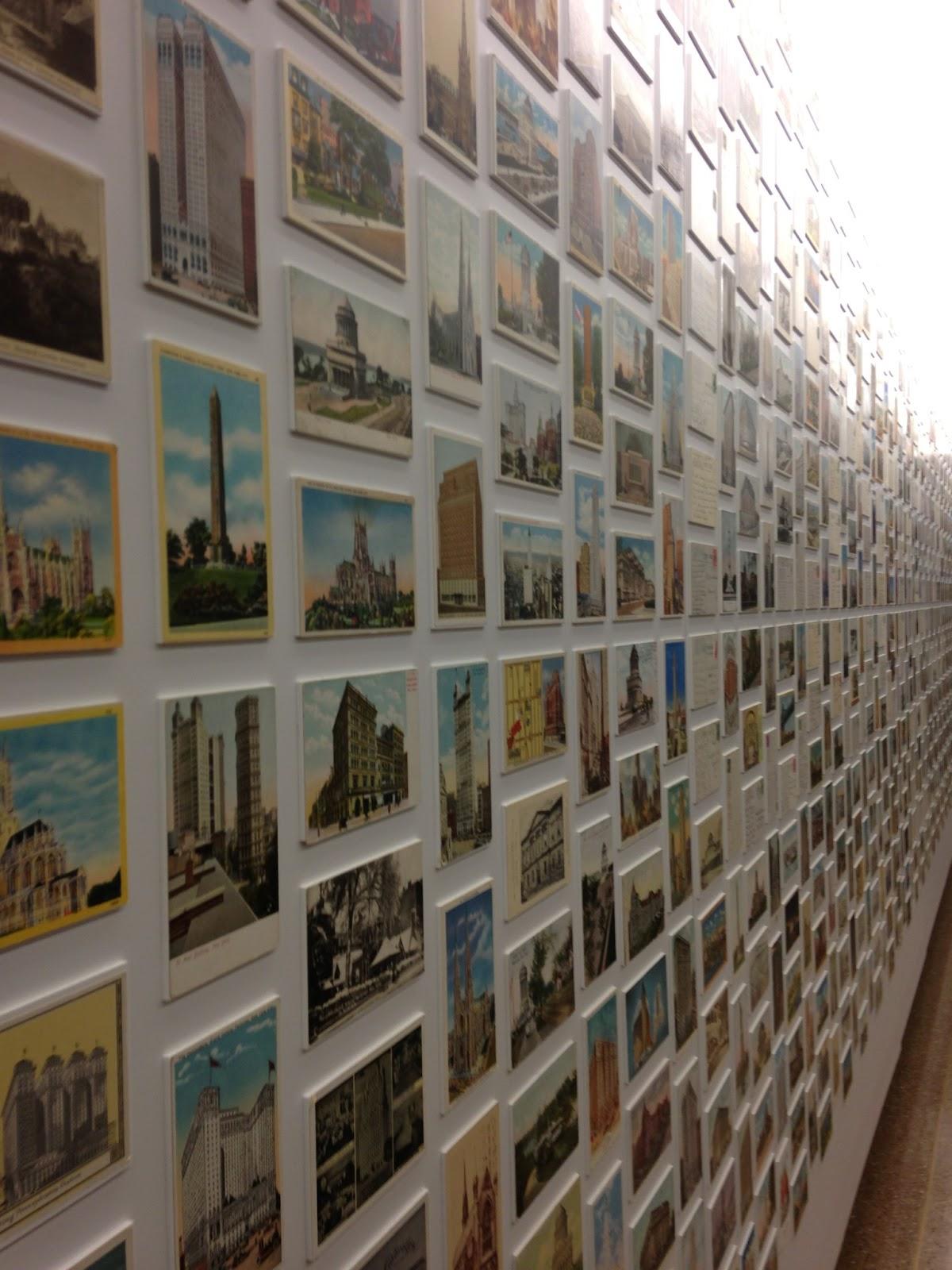 Postcard How To Build Global Community: CardCow Vintage Postcard Blog: Best Postcard Display Ever