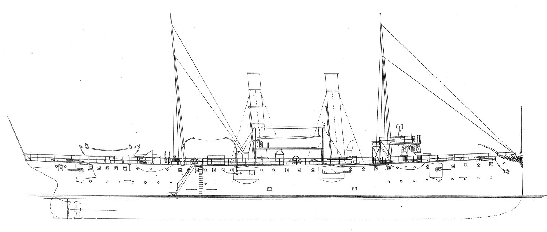 Hampton Roads Naval Museum: USS Nashville (PG 7) and the