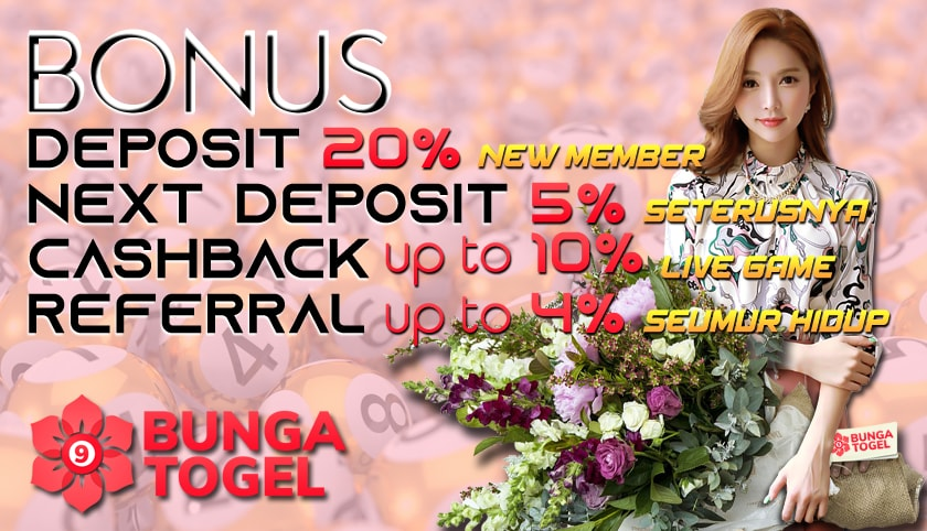 BUNGATOGEL.COM  PROMO NEW MEMBER 20%, NEXT DEPO 5% & CASHBACK 10% LIVECASINO Slide-bungatogel-4-min