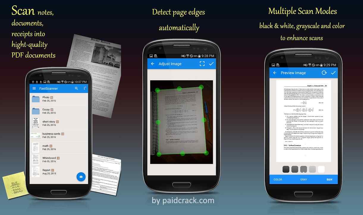 Fast Scanner - Free PDF Scan Premium Mod Apk 4.4.2