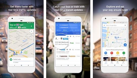 Aplikasi Maps - Navigate & Explore