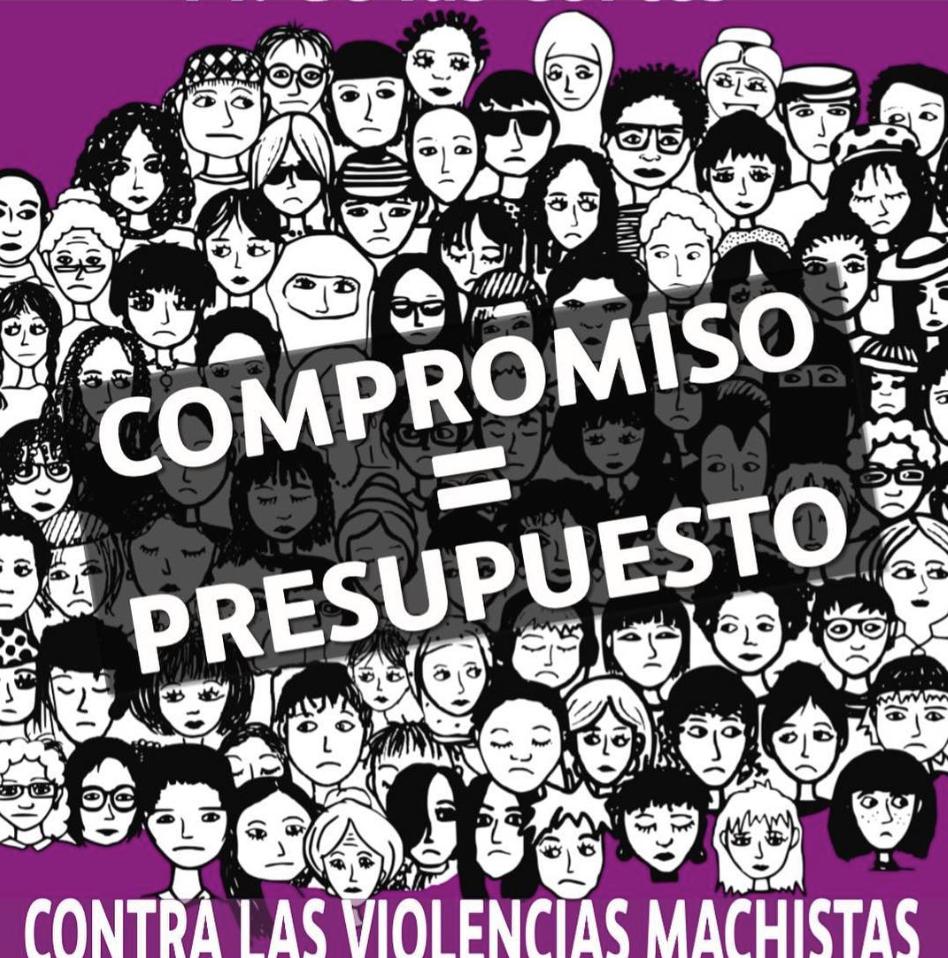 Movilización feminista el 16 de mayo 2018 contra el incumplimiento del Pacto de Estado contra la Violencia de Género