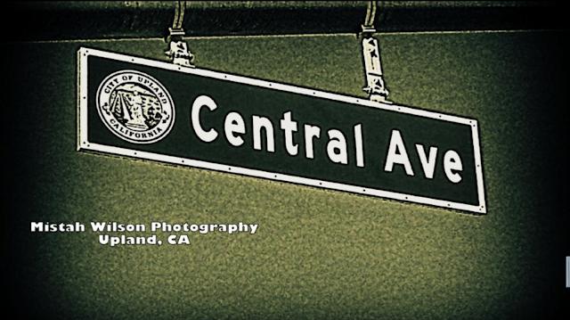 Central Avenue, Upland, California by Mistah Wilson