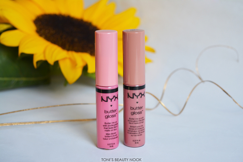 nyx haul butter gloss tiramisu vanilla cream pie