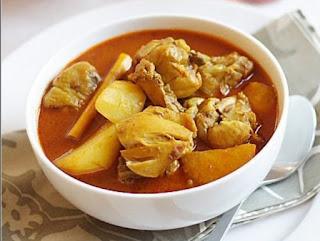 Resep Kari ayam simpel dan lezat