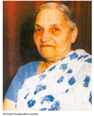 Shrimati Pushpa Wati Loomba